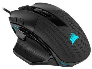 Corsair NightSword RGB Tunable FPS/MOBA Optical Gaming Mouse + Corsair T-shirt [CH-9306011-EU] Εικόνα 1