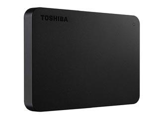 Toshiba Canvio Basics 2.5¨ USB 3.0 External Hard Drive - 2TB (Black) [HDTB420EK3AA] Εικόνα 1