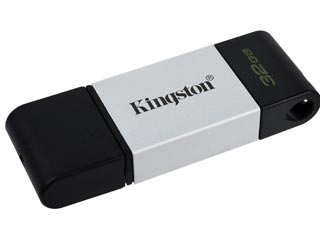 Kingston DataTraveler 80 Flash Drive - 32GB [DT80/32GB] Εικόνα 1