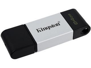 Kingston DataTraveler 80 Flash Drive - 64GB [DT80/64GB] Εικόνα 1