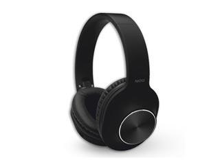 NOD Playlist Wireless Over-Ear Bluetooth Headset - Black Εικόνα 1