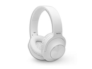 NOD Playlist Wireless Over-Ear Bluetooth Headset - White Εικόνα 1