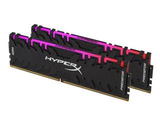 HyperX 64GB Predator RGB DDR4 3200MHz Non-ECC CL16 (Kit of 2) [HX432C16PB3AK2/64] Εικόνα 1