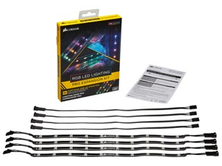 Corsair RGB LED Lighting Pro - Expansion Kit [CL-8930002] Εικόνα 1