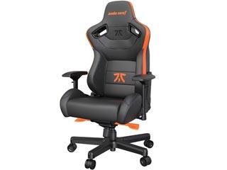 Anda Seat Gaming Chair FNATIC Edition - Black / Orange [AD12XL-FNC-PV/F] Εικόνα 1