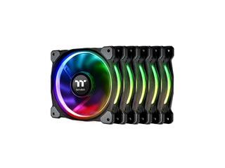 Thermaltake Fan Riing Plus 12 RGB Radiator Fan Premium Edition 5-Fan Pack + Controller [CL-F054-PL12SW-A] Εικόνα 1