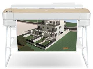 HP Plotter DesignJet Studio Wood 36-in [5HB14A] Εικόνα 1