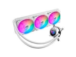 Asus ROG Strix LC 360 RGB Liquid CPU Cooler White Edition [90RC0072-M0UAY0] Εικόνα 1