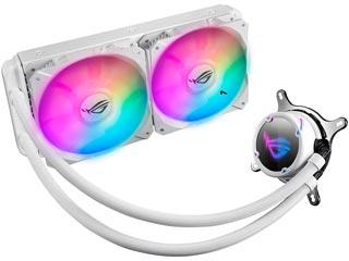 Asus ROG Strix LC 240 RGB Liquid CPU Cooler White Edition [90RC0062-M0UAY0] Εικόνα 1
