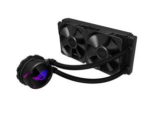 Asus ROG Strix LC 240 Liquid CPU Cooler Black Fans Edition [90RC0060-M0UAY0] Εικόνα 1