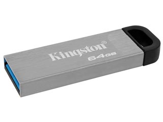 Kingston DataTraveler Kyson Flash Drive - 64GB [DTKN/64GB] Εικόνα 1