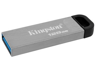 Kingston DataTraveler Kyson Flash Drive - 128GB [DTKN/128GB] Εικόνα 1