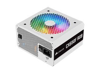 Corsair CX650F RGB Bronze Fully Modular - White [CP-9020226-EU] Εικόνα 1