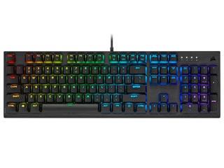 Corsair K60 RGB Wired Keyboard - Cherry MX Low Profile Speed - GR Layout [CH-910D018-GR2] Εικόνα 1