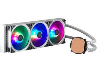 Cooler Master MasterLiquid ML360P Addressable RGB Liquid CPU Cooler - Silver Edition [MLY-D36M-A18PA-R1] Εικόνα 1