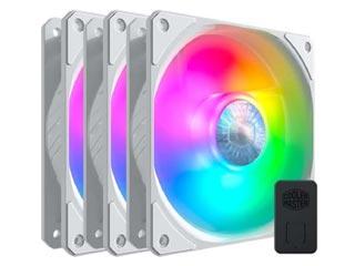 Cooler Master SickleFlow 120 Addressable RGB White Fans 3in1 + Addressable RGB Controller [MFX-B2DW-183PA-R1] Εικόνα 1