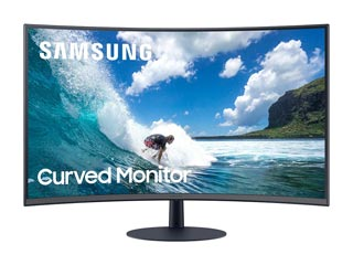 Samsung LC27T550FDUXEN Full HD 27¨ Curved Wide LED VA - 75Hz / 4ms with AMD FreeSync [LC27T550FDUXEN] Εικόνα 1