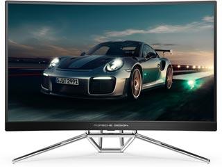 AOC Porsche Design AGON PD27 Curved 27¨ Quad HD Wide LED VA - 240 Hz / 0.5 ms - AMD FreeSync - HDR Ready Εικόνα 1