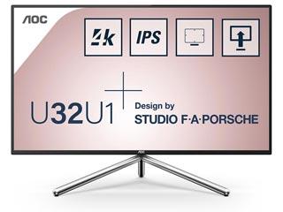 AOC U32U1 Quad HD 31.5¨ Wide LED IPS - 60Hz / 5ms - HDR Ready [U32U1] Εικόνα 1