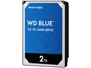 Western Digital 2TB Blue 256MB Cashe SMR SATA III [WD20EZAZ] Εικόνα 1