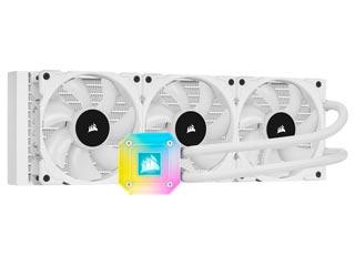 Corsair iCue H150i Elite Capellix Liquid CPU Cooler 360mm - White [CW-9060051-WW] Εικόνα 1