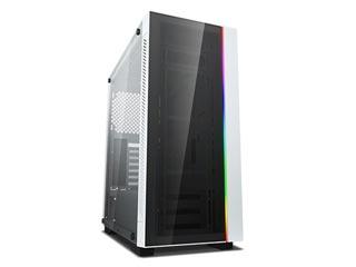Deepcool Matrexx 55 V3 ADD-RGB White Windowed Mid-Tower Case Tempered Glass [DP-ATX-MATREXX55V3-AR-WH] Εικόνα 1