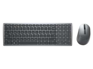 Dell Keyboard & Mouse KM7120W Wireless QWERTY Greek - Titan Grey [580-AIWU] Εικόνα 1