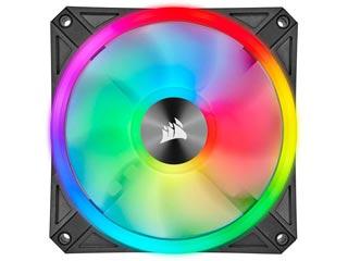 Corsair iCUE QL120 RGB 120mm PWM - Single Pack - Black [CO-9050097-WW] Εικόνα 1