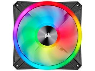 Corsair iCUE QL140 RGB 140mm PWM - Single Pack - Black [CO-9050099-WW] Εικόνα 1