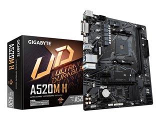 Gigabyte A520M H rev. 1.0 [GAA52MH-00-G] Εικόνα 1