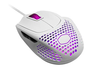 Cooler Master ΜM720 Ultralight Gaming Mouse - Matte White [MM-720-WWOL1] Εικόνα 1