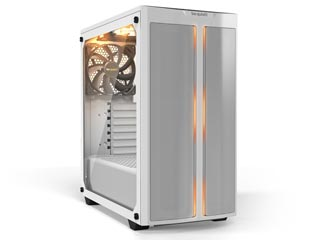 Be Quiet! Pure Base 500DX ARGB Windowed Mid-Tower Case Tempered Glass - White [BGW38] Εικόνα 1