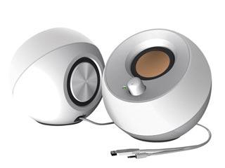Creative Pebble 2.0 USB Speakers - White [51MF1680AA001] Εικόνα 1
