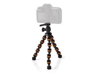 Nedis Mini Camera Tripod - 260mm Max Height - 1kg Peak Load - Flexible [GPOD3200BK] Εικόνα 1