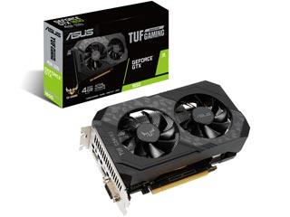 Asus GeForce GTX 1650 TUF 4GB D6 P [90YV0EZ0-M0NA00] Εικόνα 1
