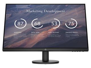HP P27v G4 Full HD 27¨ Wide LED IPS - 60Hz / 5ms [9TT20AA] Εικόνα 1