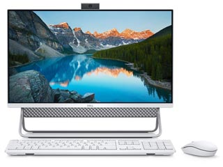 Dell Inspiron 5400 Non-Touch All-in-One PC 23.8¨ - i5-1135G7 - 8GB - 512GB SSD - Nvidia MX 330 2GB - Win 10 Pro - Silver [5400-4581] Εικόνα 1