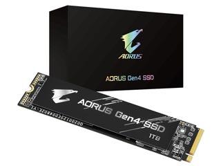 Gigabyte AORUS 1TB M.2 PCIe Gen4 NVMe 1.3 SSD [GP-AG41TB] Εικόνα 1