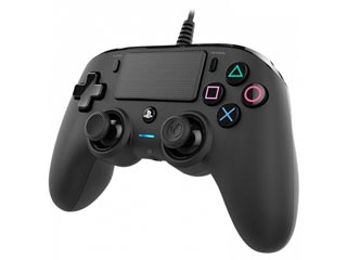 Nacon Wired Compact Controller for PS4 and PC - Black [PS4OFCPADBLACK] Εικόνα 1