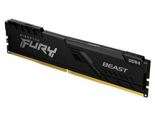 Kingston 4GB FURY Beast DDR4 2666MHz Non-ECC CL16 [KF426C16BB/4] Εικόνα 1