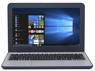 Asus Laptop (W202NA-GJ0077R) - Intel Celeron N3350 - 4GB - 128GB eMMC - Win 10 Pro [90NX0FU1-M01850] Εικόνα 1