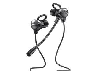 WK Design ET-Y30 Gaming Earphones - Black Εικόνα 1