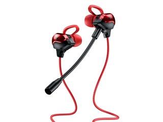 WK Design ET-Y30 Gaming Earphones - Red Εικόνα 1