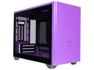 Cooler Master Masterbox NR200P Windowed Mini Tower Case Tempered Glass - Nightshade Purple [MCB-NR200P-PCNN-S00] Εικόνα 1
