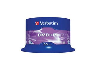 Verbatim DVD+R 50-Pack Spindle 16x Speed (4.7GB) [43550] Εικόνα 1
