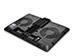 Deepcool Notebook Cooling Pad U Pal - Black [DP-N214A5-UPAL] Εικόνα 2