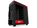 NZXT H Series H440 V2 Windowed Mid-Tower Case - Black and Red [CA-H442W-M1] Εικόνα 4