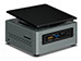 Intel NUC - Celeron J3455 - 2GB - 32GB eMMC + 2.5¨ HDD Support - Win10 [BOXNUC6CAYSAJR] Εικόνα 4