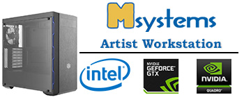 Msystems Artist Workstation