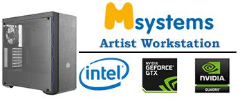 Msystems Artist Workstation